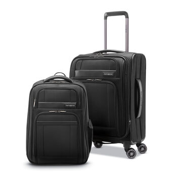 Samsonite 2 Piece Executive Set Backpack / Carry-On