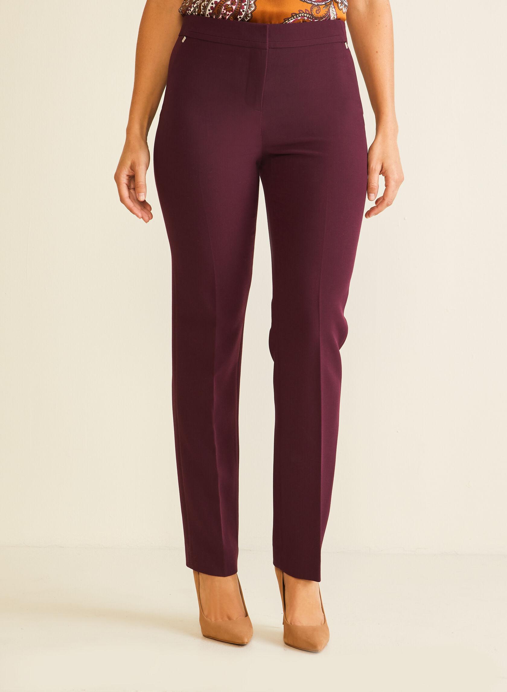 Pantalon coupe moderne à jambe droite
