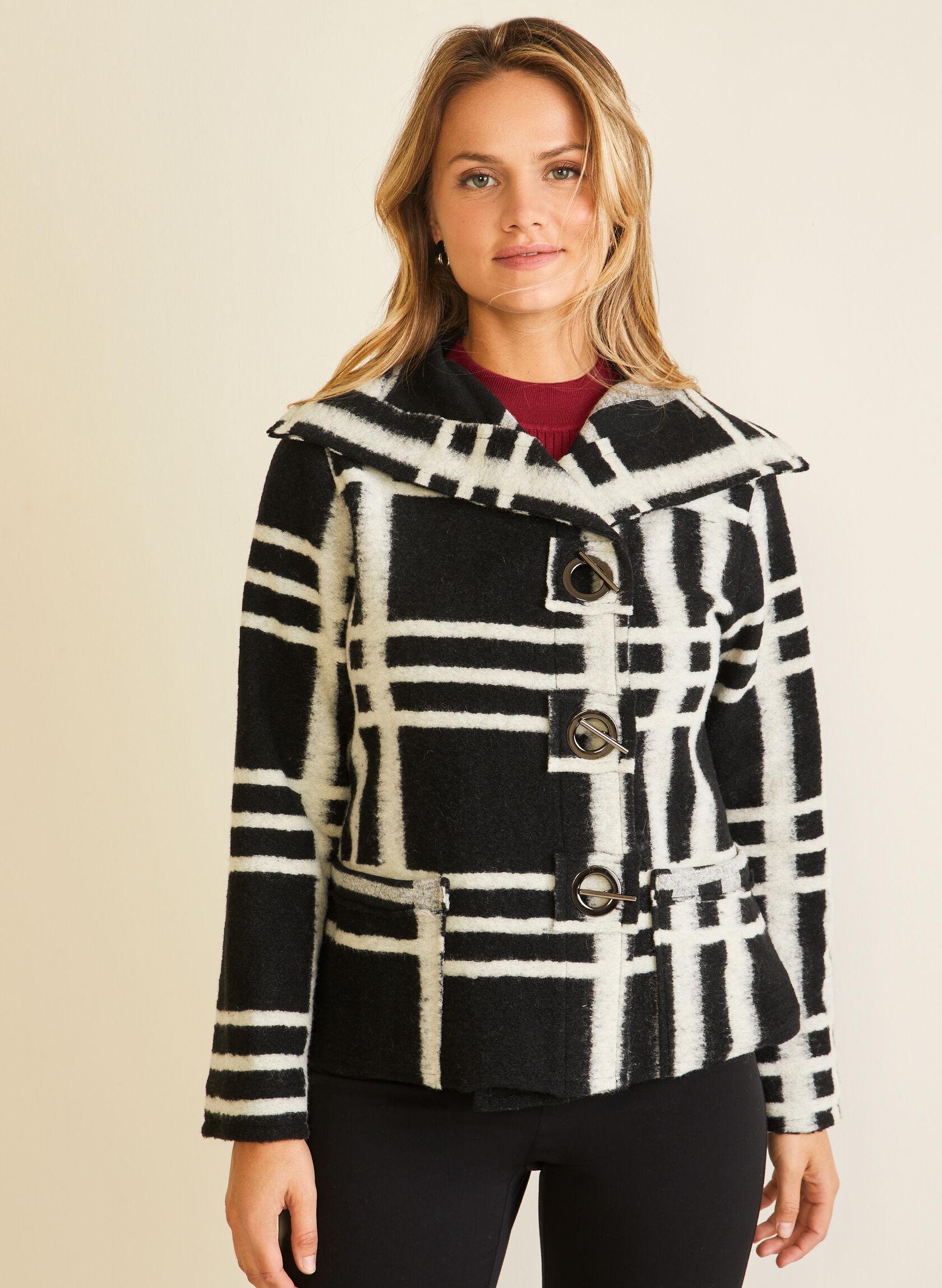 Elena Wang - Manteau en laine mélangée