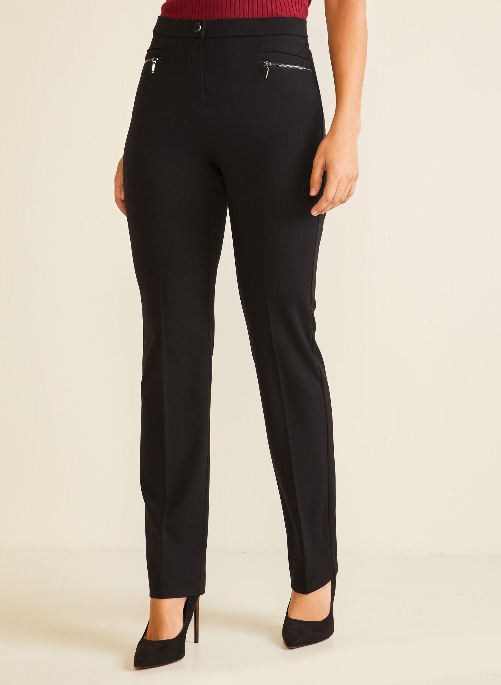 Pantalon coupe signature à jambe droite